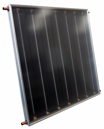 COLETOR SOLAR BLACK TECH 7 ALETAS 1,00 X 1,00 - RINNAI-0
