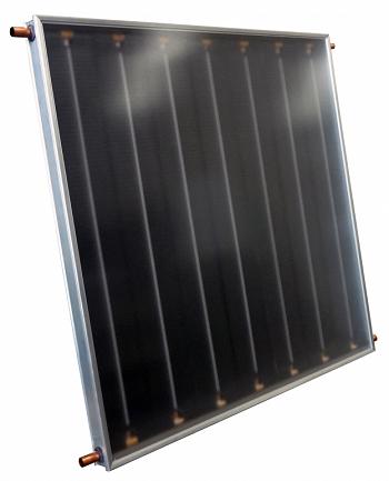 COLETOR SOLAR BLACK TECH 7 ALETAS 1,00 X 2,00 - RINNAI-0